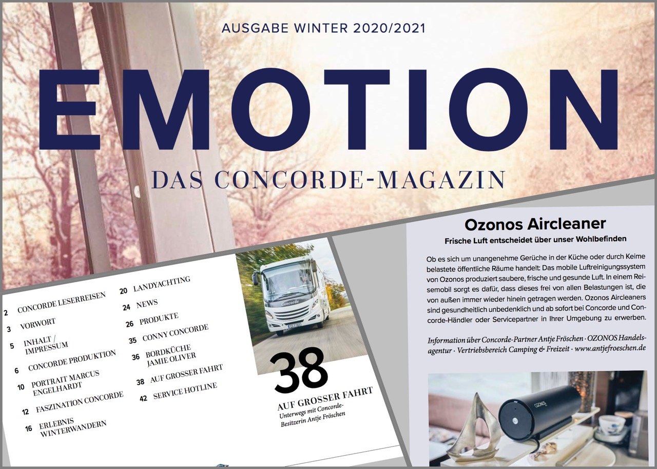 """2020/2021 Concorde-Magazin """"EMOTION"""""""