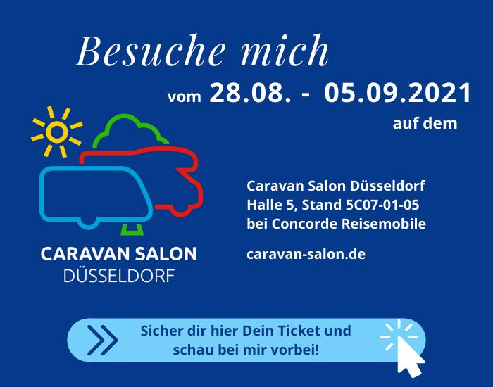 Caravan Salon Düsseldorf 2021 mit Antje Fröschen und OZONOS